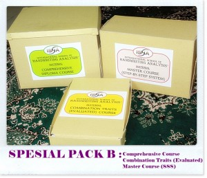 Materi Kursus Grafologi ISHA (program Spesial Pack B)r