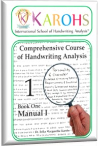 course comprehensive of handwriting analysis