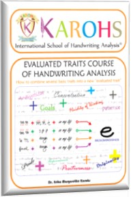 course evaluated of handwriting analysis