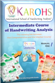 course intermediate of handwriting analysis