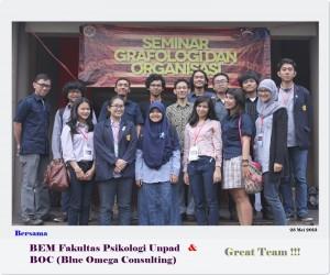 Seminar Grafologi & Organisasi (BEM Fak Psikologi Unpad) - 25 Mei 2013 (2)r