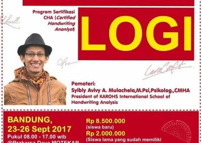 Kelas Intensif CHA Bandung Sep 17