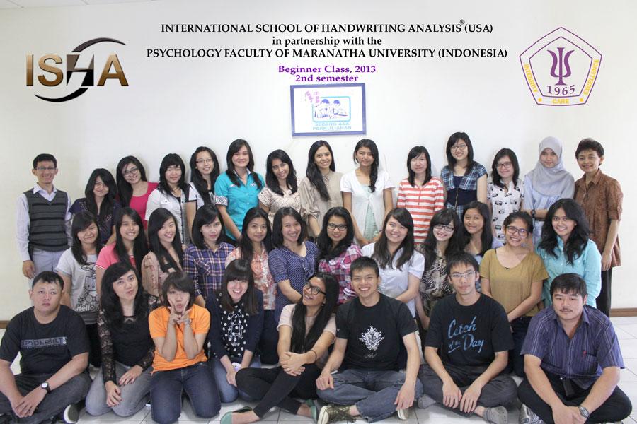 ISHA - Fakutas Psikologi Universitas Maranatha - Beginner Class 2013