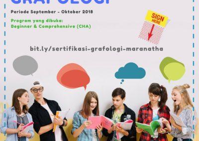 Grafologi Maranatha 2018 IG resize