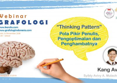 Webinar Grafologi 12 Nov 2018 Thinking Pattern web