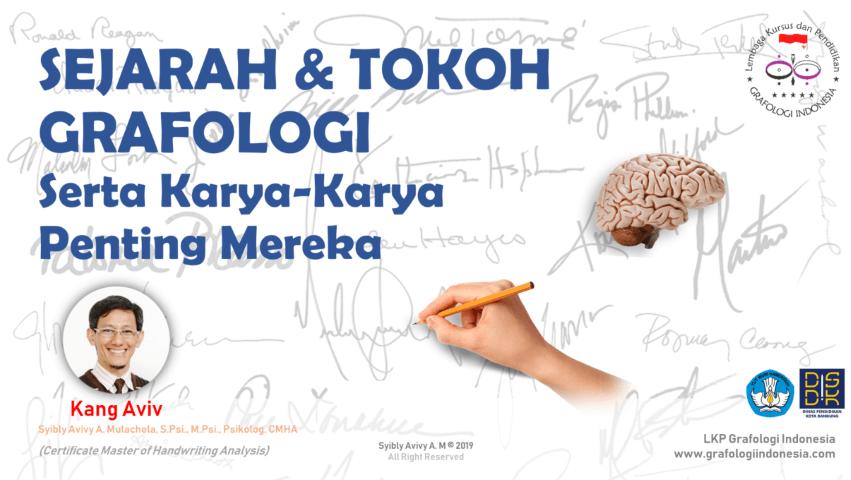 sejarah dan tokoh ahli grafologi indonesia