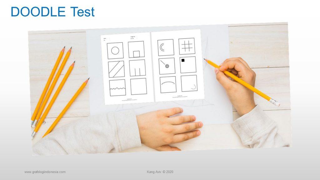 Doodle test indonesia arti tulisan dan gambar anak 12 kotak