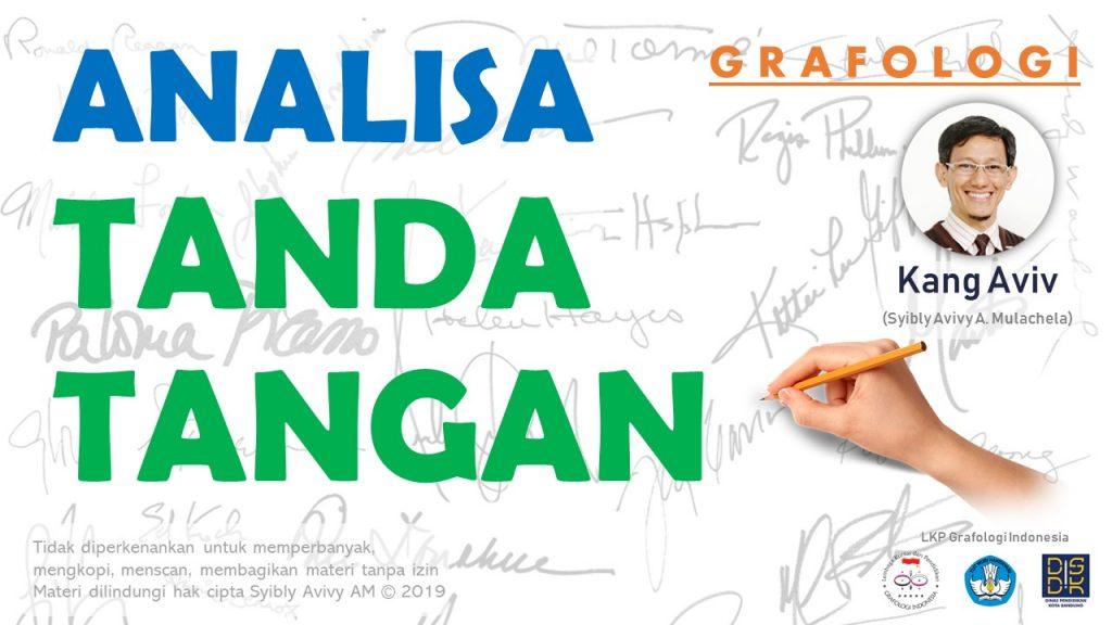 analisa cara baca arti tanda tangan