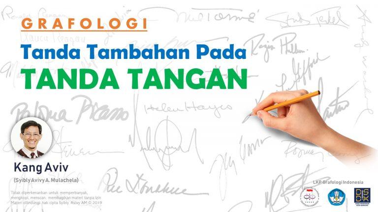 analisa arti cara baca tanda tangan